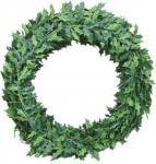 Doll Decoration Christmas (Dolls House Holly Leaf Garland Miniature Roping Xmas Decoration 12' Long)