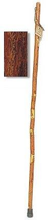 "48″ Sassafras ""Scout"" Sized Hiking Staff – Ladies, Kids, Scouts and Tourists, Outdoor Stuffs"