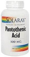 Acide pantothénique 500mg - 250 - Capsule
