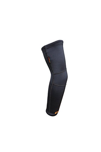 TITANIUM COMPRESSION ARM-KNEE SLEEVE - Infused Titanium Bio-Ceramic garment promotes natural FAR-Infrared Production for muscle joint healing, deep tissue warming, and pain - Titanium Arm