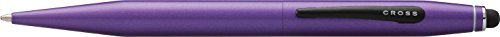 Cross Tech2, Metallic Purple Ballpoint Pen with 6mm Stylus (AT0652-7)