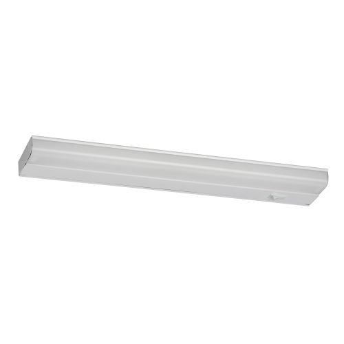 American Fluorescent T5U108RT Direct Wire 1-8 Watt T5 Task Lighting with Lamp & Switch, White Metal Housing with White Diffuser - High Performance Fluorescent Task Lamp