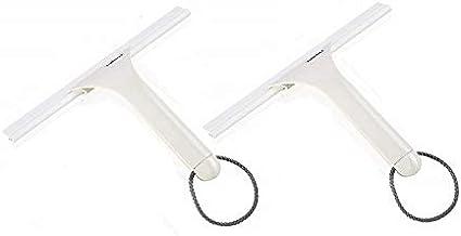2 limpiadores de mampara Leifheit 41650 para cabina de ducha, Color Blanco: Amazon.es: Hogar