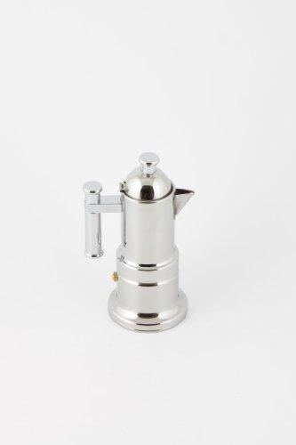 VeV Vigano Kontessa Inox 2 Cup Espresso Maker