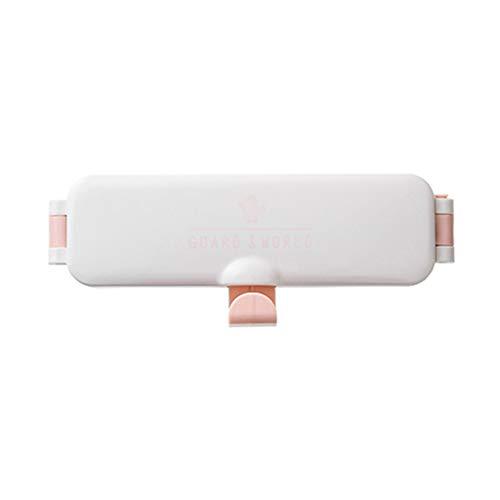 Ktyssp Wall Mounted Foldable Wash Basin Storage Rack Pot Lid Shelf Holder Self Adhesive Washbasin Storage Rack (Pink) (Wall Mounted Washbasin)