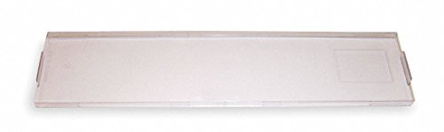 - Clear Block Cover, 1 EA, For Use With Modular 66 Cross Connect Blocks (For HPW66B36) - Pack of 5
