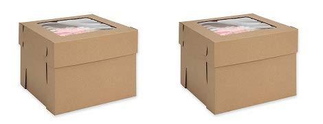 W PACKAGING WPCB108KP - Caja para tartas (25 unidades, 25,4 x 25,4 ...