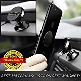 GREATEST PRODUCTS Magnetic Phone Car Mount-Phone Holder For Car iPhone 7 8 Car Mount-Cell Phone Holder -Samsung Galaxy S7 S8, LG, Dash Phone Mount-Universal Magnetic Phone Mount - BLACK