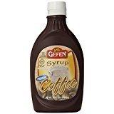 Gefen Syrup Premium Coffee Gluten Free KFP 22 Oz. Pack Of 6.