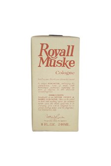 Royall Muske Of Bermuda By Royall Fragrances For Men. Cologne Splash 8.0 Oz ( Aftershave Lotion & Body Cologne ).