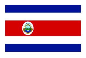 (3) Costa Rica Flag Funny Hard Hat / Helmet Vinyl Decal Sticker - Masks Costa Rica