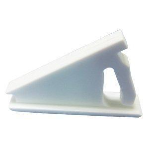 Set of 10pcs White Window Sash Vent Stops 1720WHITE by Vision Hardware