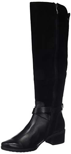 Para 9 Botines Negro 19 9 21 019 Caprice black Comb 25609 Mujer TAwHqZ4