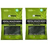 Indigenous Dental Health Bones Original Fresh Breath Flavor 17ounces (Pack of 2)