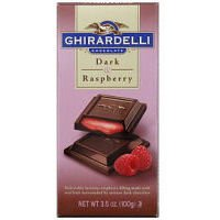 Ghirardelli Dark Chocolate Bar (Chocolate Raspberry Candy)