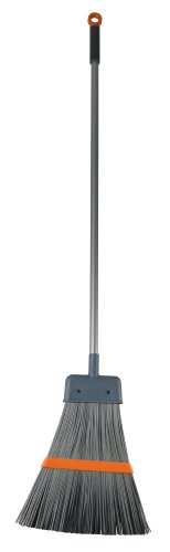 Casabella Outdoor Surface Broom Graphite