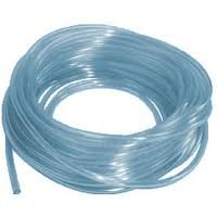 1//2 inch Diameter Clear High-Performance Urethane Round Belting 25 ft Length