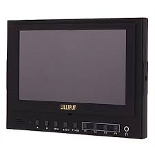 LILLIPUT 7'' TFT LCD (16:9) LILLIPUT 5DII-H-I 1080p LCD On DSLR Camera Monitor HDMI OUT Car Headrest Monitor with iPod/iPad/iPhone Support NO Output Signal NEW by Lilliput