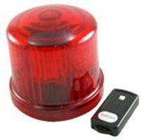 (Fortune Products PL-300RJ-RC 4.75 in. Rotating LED Beacon, Battery Operated-Jack -)