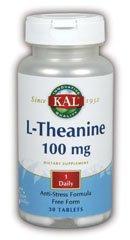 KAL - L-théanine, 30 comprimés