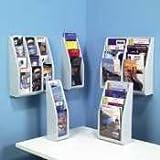 DEF52009 - Multi-Tiered Desktop/Wall-Mount Literature Holders