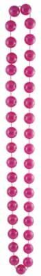 [Jumbo Party Beads (pearl pink) Party Accessory  (1 count) (1/Card)] (Jumbo Mardi Gras Beads)