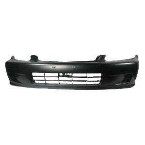TKY HD04096BB-DK1 Honda Civic Primed Black Replacement Front Bumper Cover