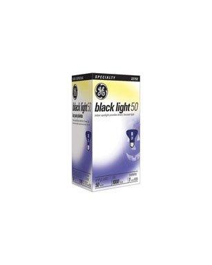 (Ge R20 Blacklite Reflector Floodlight Bulb 50 W Med Base 3-15/16 In. Boxed)