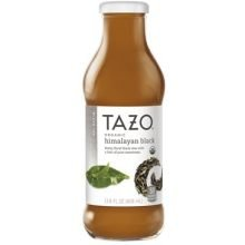 Tazo Organic Himalayan Black Iced Tea, 13.8 Fluid Ounce - 12 per case. (Tazo Organic Iced Tea)