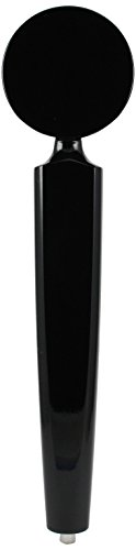 Black Label Beer - Taphandles STK05-0135-01 Round Top Tap Handle with Dual Label Surfaces, 11