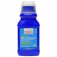 (Walgreens Milk of Magnesia, Sugar Free, Regular, 12 fl oz - 2pc)