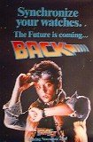 Back to the Future 2 Advance Original One Sheet Movie Poster 26 3/4' X 39 3/4'.