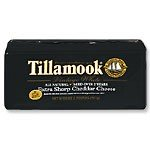 TILLAMOOK ® VINTAGE WHITE SHARP CHEDDAR CHEESE - (2 LB.) Baby Loaf ® Gift (Mature Cheddar Cheese)