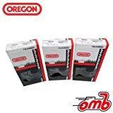 (3) Loops 24'' Bar Oregon Chain 73LGX084G .058 Gauge 3/8'' Pitch - 84 Drive Links ;PO#44T-KH/435 H25W3385196