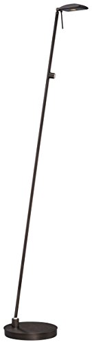 - George Kovacs Copper Bronze Dome LED Pharmacy Floor Lamp