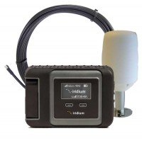 Iridium GO! Marine Package with Marine Antenna and Blank Prepaid SIM Card Ready for Easy Online Activation