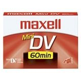 4pk Maxell 60 Min Dig Mini Video Cassette by Maxell