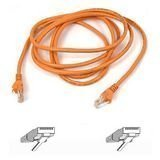 Belkin A3l791-10-org-s 10 Orange Cat5e Patch Cable Snagless from BELKIN