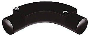 5 x 20mm Black Pvc Conduit Ispection Bend Jegs
