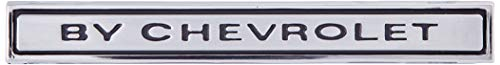 "Trim Parts 4599 Front Header Panel Emblem (1969 Chevelle ""By Chevrolet"")"