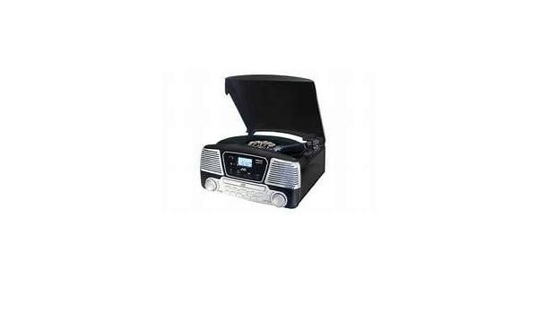 JVC - Tocadiscos Bluetooth CD Rd-F327B Negro: Amazon.es: Electrónica