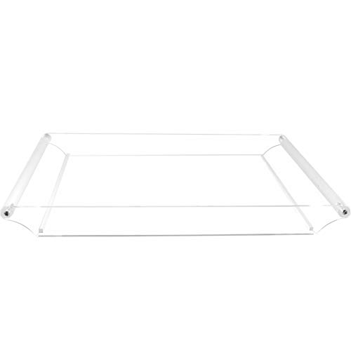 Cq acrylic Clear Serving Tray-16