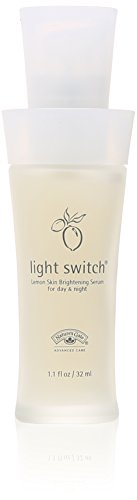 Nature's Gate Organics Lemon Skin Brightening Serum for Day & Night, Light Switch, (1.1 fl oz) (32 ml)
