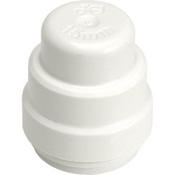 JG Speedfit End Stop - White 22mm Pack 2 John Guest