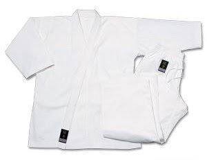 Pro Force 8oz 100% Cotton Mediumweight Uniform - White - 5