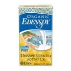 Eden Foods Organic Unsweetened Edensoy (12x32 OZ)