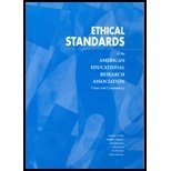 Ethical Standards of the American Educational Research Association : Cases and Commentary, Strike, Kenneth A., 093530228X