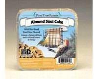 Almond Suet Cake - Pine Tree 1460 Almond Wild Bird Suet Cake, 12-Ounce