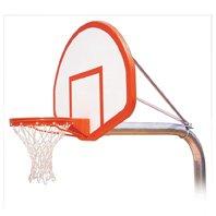 最初チームRuffneck flight-ext steel-fiberglass in ground固定高さバスケットボールsystem44 ;フォレストグリーン B01HC0D5GQ