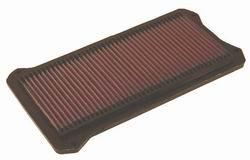 K&N ENGINEERING 33-2100 Air Filter; Panel; H-0.875 in.; L-7.063 in.; W-12.75 in.;